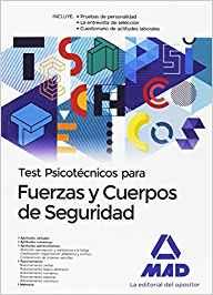 libro test psicotecnicos fuerzas y cuerpos de seguridad